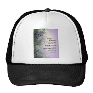 Serenity Prayer Rhododendrons and Creek Hat