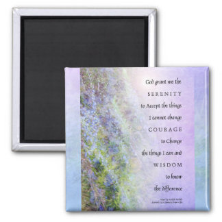 Serenity Prayer Rosemary Magnet