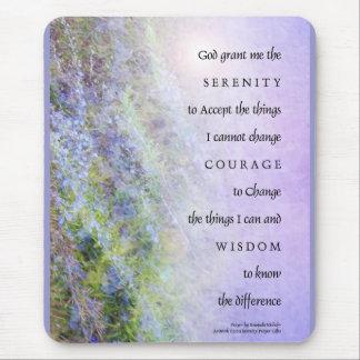Serenity Prayer Rosemary Mouse Pad