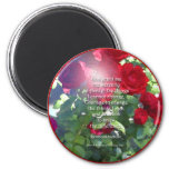 Serenity Prayer Roses Magnet