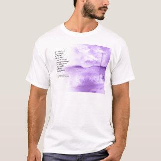 Serenity Prayer Rural Scene T-Shirt