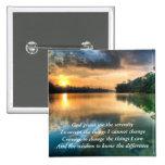 Serenity Prayer Scenic Button