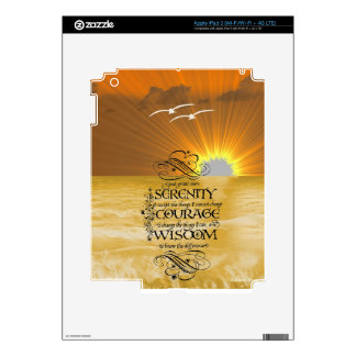 Serenity Prayer iPad 3 Decal