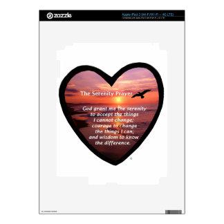 Serenity Prayer Skins For iPad 3