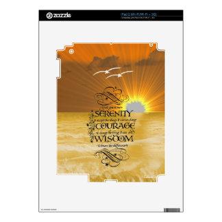 Serenity Prayer iPad 2 Decals
