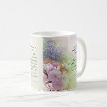Serenity Prayer Spring Flowers Coffee Mug