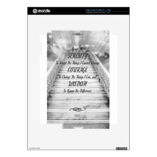 SERENITY PRAYER Stairway To Heaven iPad 2 Decal