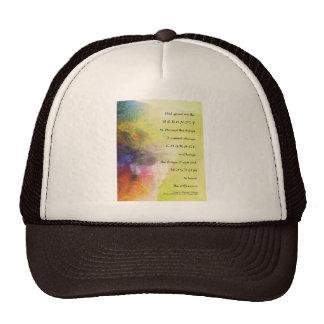 Serenity Prayer Stream Trucker Hat