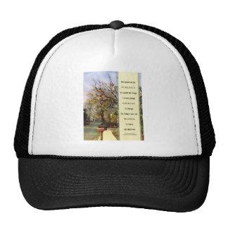 Serenity Prayer Street Scene Trucker Hat