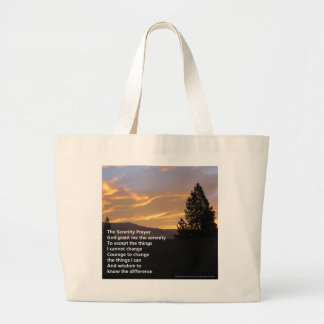 Serenity Prayer Sunrise Bag