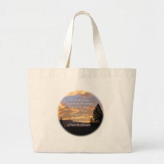 Serenity Prayer Sunrise Gold Bag