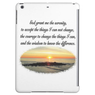 SERENITY PRAYER SUNRISE PHOTO DESIGN