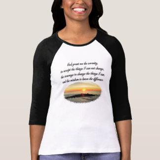 SERENITY PRAYER SUNRISE PHOTO DESIGN T-Shirt