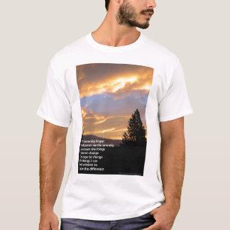 Serenity Prayer Sunrise T-Shirt