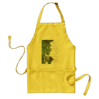 Serenity Prayer Sycamore Leaves Aprons