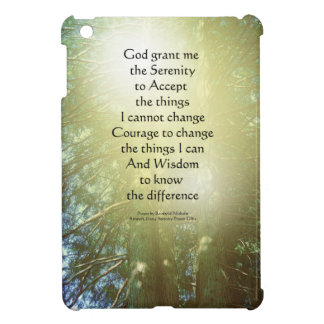 Serenity Prayer Tall Trees Two Case For The iPad Mini