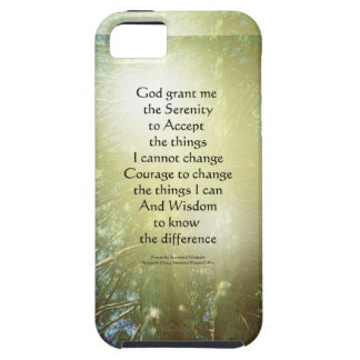 Serenity Prayer Tall Trees Two iPhone 5 Cover