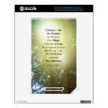Serenity Prayer Tall Trees Two Skin For The NOOK Color