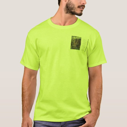 Serenity Prayer Tangled Trees T-Shirt