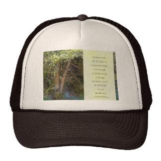 Serenity Prayer Tangled Trees Trucker Hat