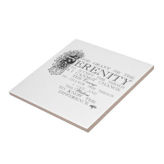 Serenity Prayer Tile