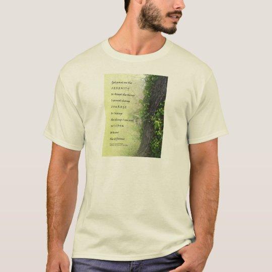 Serenity Prayer Tree and Gully T-Shirt