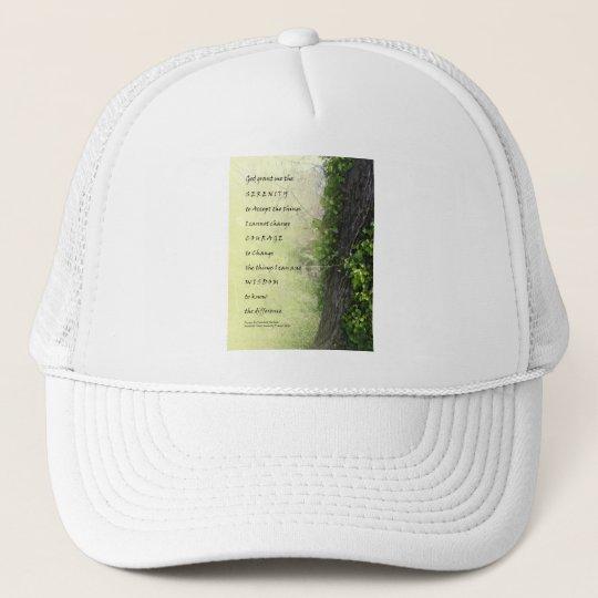 Serenity Prayer Tree and Gully Trucker Hat
