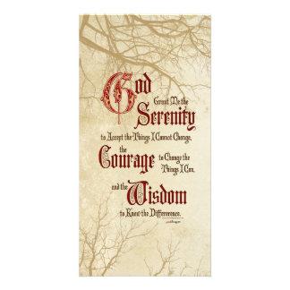 Serenity Prayer: Tree Limbs, Strength/Recovery Card