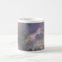 Serenity Prayer Tree Sky Glow Coffee Mug