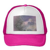 Serenity Prayer Tree Sky Glow Trucker Hat