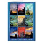 Serenity Prayer Trees Quilt Card