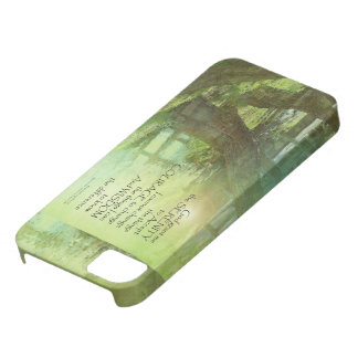Serenity Prayer Trees, Water, Bridge iPhone SE/5/5s Case