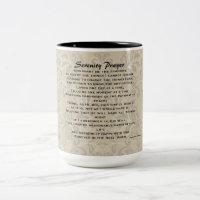 Serenity Prayer Two-Toned Mug