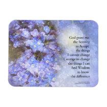 Serenity Prayer Veronica Magnet