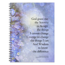 Serenity Prayer Veronica Notebook