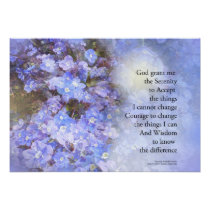 Serenity Prayer Veronica Poster