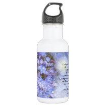 Serenity Prayer Veronica Stainless Steel Water Bottle