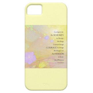 Serenity Prayer Vinca on Stones iPhone SE/5/5s Case