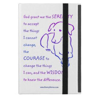 Serenity Prayer w Dog iPad Mini Cover Covers For iPad Mini