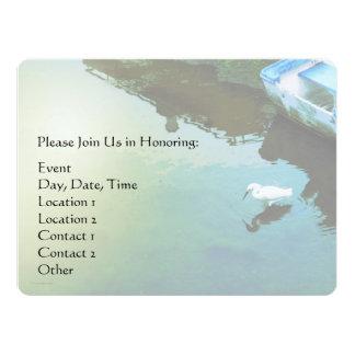 Serenity Prayer Water and White Bird Card