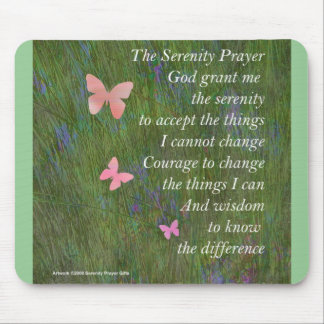 Serenity Prayer Wetlands Mouse Pad