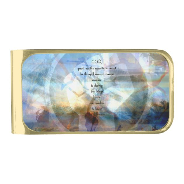 Serenity Prayer Money Clip