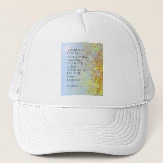 Serenity Prayer Yarrow Trucker Hat