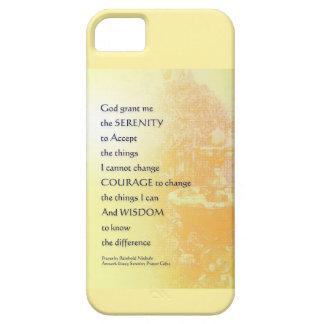 Serenity Prayer Yellow Fountain iPhone SE/5/5s Case