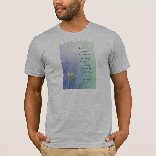 Serenity Prayer Yellow Iris Blend T-Shirt