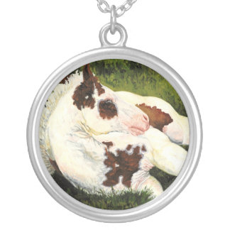 Serenity - Resting Foal Necklace