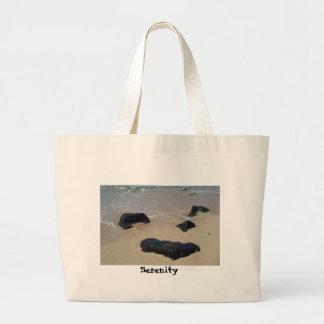 Serenity Rocks Large Tote Bag