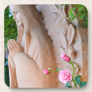 Serenity Rose Garden Beverage Coaster