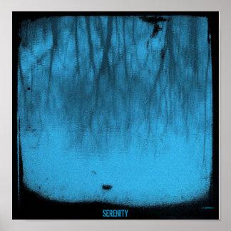 Serenity Series: The Lake Blue TTV Print