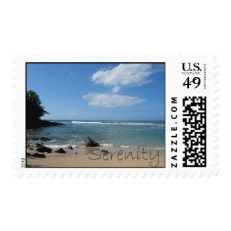 Serenity stamp Kauai